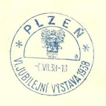 Plzeň - Jubilejní výstava 1938