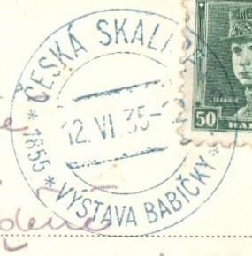 1935 Česká Skalice - VÝSTAVA BABIČKY (35/104)