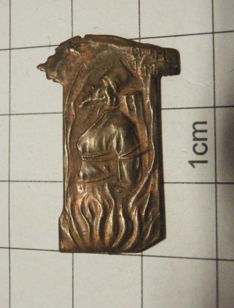 Odznak / štítek Jan Hus