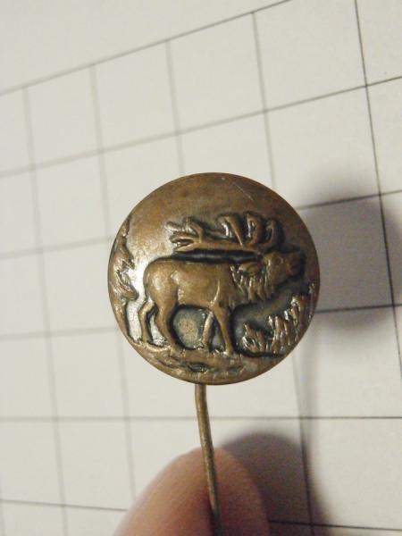 Myslivecký odznak - jelen