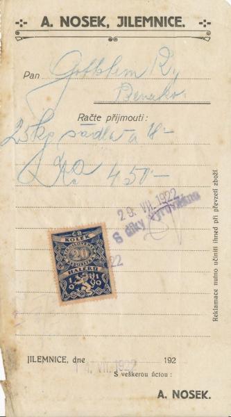 A.Nosek - Jilemnice (Semily)