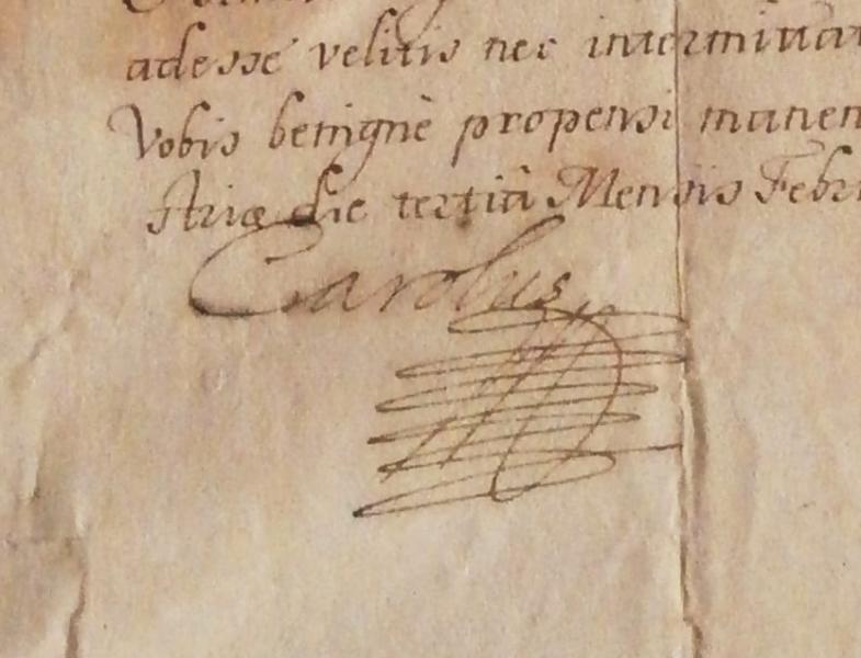 Mandát císaře Karla VI., 3. února 1717, Vídeň