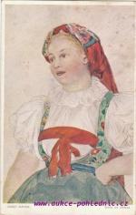Josef Mánes-Dívka od Jihlavy
