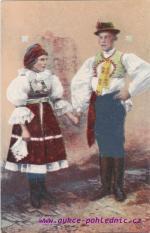 Lidový kroj ze Slovácka