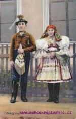 Lidový kroj ze Slovácka-Kyjovsko