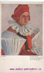 J.Schuck-Slovácké děvče