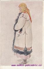 Josef Mánes-Žena z Bílovic u Uh.Hradiště