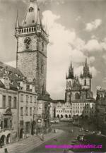 Staroměstské náměstí a Týnský chrám