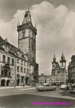 Staroměstská radnice a Týnský chrám