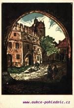 Prachatice-stará literátská škola