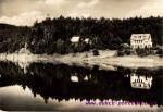 Husinec-jezero na přehradě