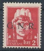 1943 / Itálie, Militarpost-Marken,G.N.R. Mi *13 I