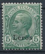 1912 / Itálie, Leros Mi *4V