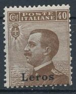 1912 / Itálie, Leros Mi *8V