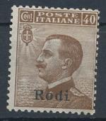 1912 / Itálie, Rodi Mi *8X