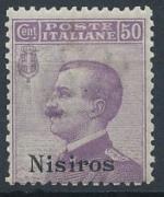 1912 / Itálie, Nisiros Mi *9VII