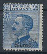 1912 / Itálie, Simi Mi *7XII