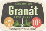 Hanušovice GRANÁT pivo tmavé 10%