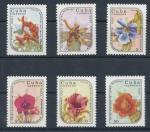1986 Kuba Mi 2990/95 květiny