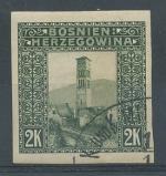 1906, Bosna a Herz. Mi-43 stříhaná