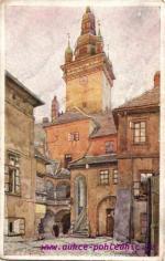 Brno- radniční dvůr