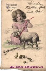 Dítě a ovečka