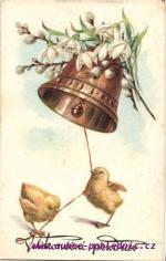 Kuřátka a zvon