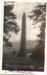 Třistoličník- pomník básnika Štiftera