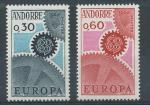 1967 Andora Mi 199/200