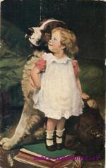Dítě s bernardýnem