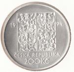 1994 Dvousetkoruna - 200 Kč, Životní prostředí
