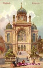 Karlovy Vary- synagoga