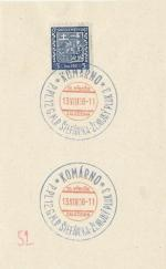1938 PR 38/101 KOMÁRNO P.PL.12.G.M.R.ŠTEFANIKA-ŽENIJNÝ PLUK 3