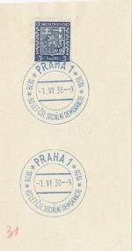 1938 PR 38/40 PRAHA1 60 let čsl. soc. demokracie