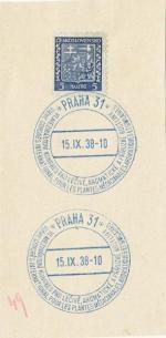 1938 PR 38/119 PRAHA31  VI. Mezinárodní kongres pro léčivé rostliny