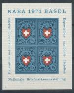 1971 Švýcarsko Mi Bl. 21