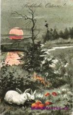 Zájíci - velikonoční