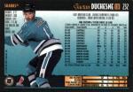 LW-232  Gaetan Duchesne - San Jose Sharks