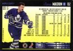 D-102  Jamie Macoun - Toronto Maple Leafs