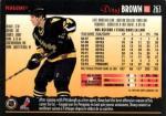 RW-263  Doug Brown - Pittsburg Penguins