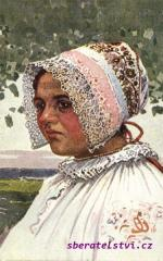 Jožka Uprka - Mladá žena z Radošovce