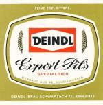 Deindl - Export Pils Spezialbier