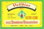 Dresdner Brauerei - Vollbier hell