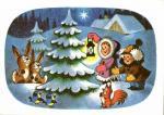 Vánoční- Děti a zvířatka