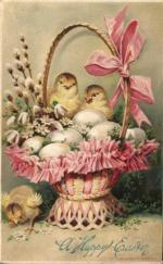 Velikonoční - kuřata