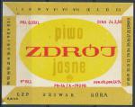 Piwo Zdrój  Jasne - Góra