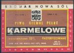 Piwo Karmelowe - Nowa Sól