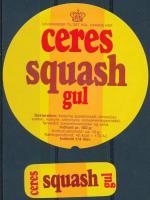 Squash Gul - Ceres