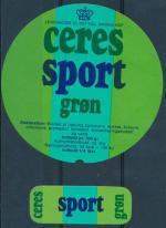 Sport Gron - Ceres