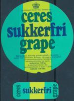 Sukkerfri Grape - Ceres